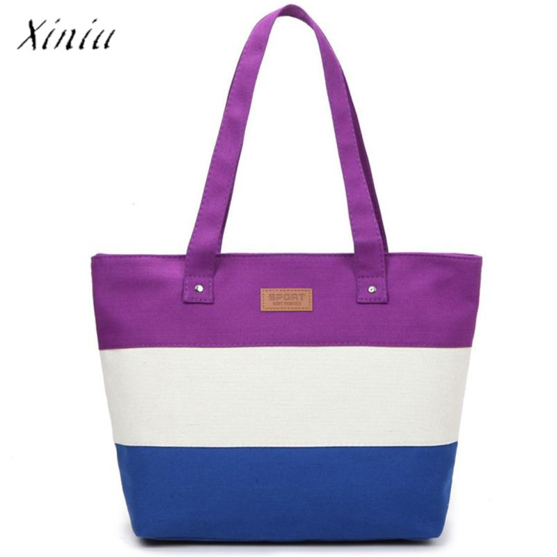 Canvas Handbags Shoulder Messenger Bags Large Tote Shopping Bag Beach Bags Tote Feminina