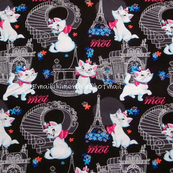 Ac010 1 Yard Sdlp Cotton Woven Fabric Cartoon Characters