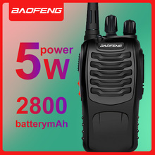 2 PCS BAOFENG BF-888S walkie talkie UHF two way radio baofeng Portable cb 888s long distance Flashlight with Earpiece