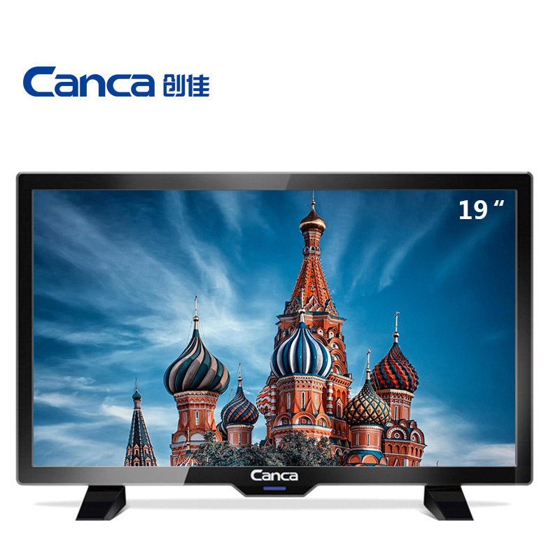 Canca DTMB CMMB DVB-T TV 19inches TV Full HD HDMI/USB/AV/RF/VGA Multi-Interface Monitor Eyecare Elegant Narrow(China)