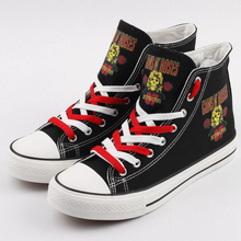 High Quality Women Printed Shoes Lace-up Custom  Casual Canvas Shoes zapatillas mujer good quality