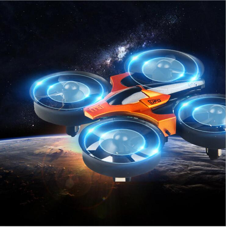 Newest mini rc drone RH807 2 4G 6axis headless mode one key return anti fall full
