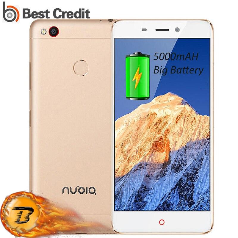 """bilder für Ursprüngliche ZTE Nubia N1 3 GB RAM 64 GB ROM Helio Octa-core Handy 5000 mAh 13MP + 13MP Fingerprint 5,5 """"FHD Metall Körper Handy"""