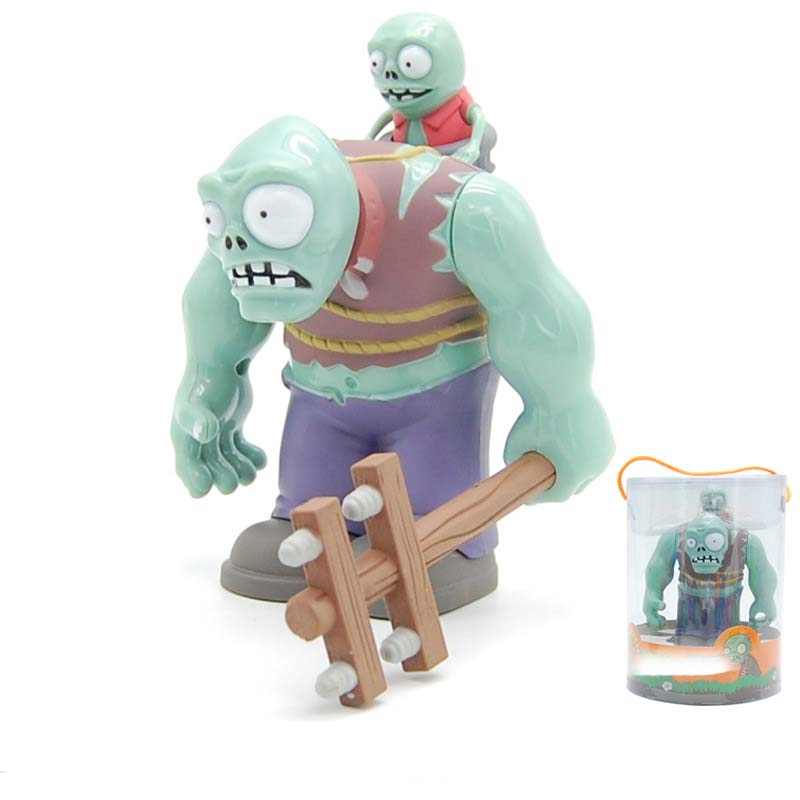 Plants vs Zombies PVZ BIG Zombie The Building Blocks Figures Diy Model Legoings Education Toys For Children Gift in Blocks from Toys Hobbies