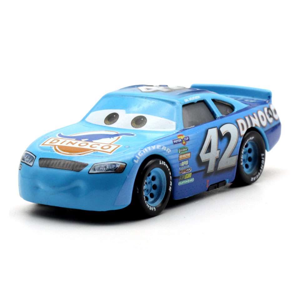 Disney 2018 New Pixar Cars 3 Racing Center NO 42 Metal Diecast Toy Car 1:55 Loose Brand New In Stock Toy Car Gift For Kids цена