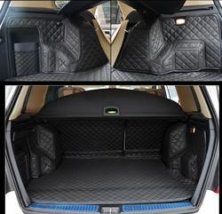 Fiber lederen auto kofferbak mat voor Mercedes-Benz GLK280 GLK300 glk350 GLK220 X204 2008 2009 2010 2011 2012 2008 -2016 accessoires