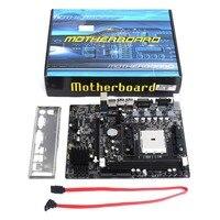 A55 DIY Desktop Motherboard Supports For Gigabyte GA A55 S3P A55 S3P DDR3 Socket FM1 Gigabit Ethernet Mainboard