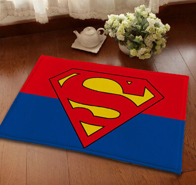 Online Shop Superhero Carpet Black Cartoon Cute Rug Non Slip Bathroom Rugs  And Carpets Decorative Modern Area Rug For Living Room Home | Aliexpress  Mobile