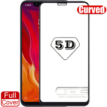 5D Curved Full Cover for Xiaomi Mi 8 Screen Protector 9H Tempered Protective Glass A2 Redmi Note 5 Pro Global