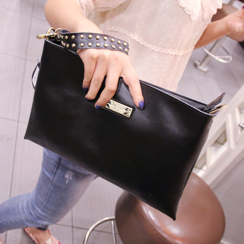 Fashion Women Bags 2016 Rivet Leather Handbag Women Crossbody Bags Bolsa Feminina Mujer Party Clutch Bag Evening Bags Sac Femme складной нож saibu g 10 дерево сталь cpm 20cv