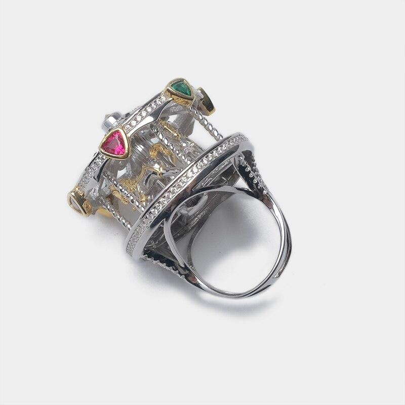 Design manège pour un grand anneau élégant