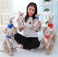 """Encantadores juguetes de peluche de canguro 1 unids 14 """"35 cm de Australia Australia canguro de juguete muñecas regalo de Los Niños Suave Animal De peluche de felpa"""