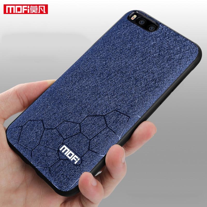 Mofi For xiaomi mi 6 for xiaomi 6 case silicon back cover ultra thin TPU original luxury for xiaomi mi6 case leather capa 5.15