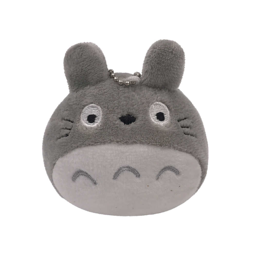 Тоторо плюшевые игрушки, забавные чучела брелок куклы Школа сумки аксессуары небольшая игрушка-брелок Kawaii подарок PTG03