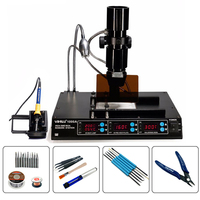 YIHUA 1000A Soldering Station Infrared Rework Station 3 in 1 BGA Lead Free Soldering Station Laptop Motherboard Repairing Tools