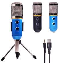 MK-F200TL профессиональный микрофон USB конденсаторный микрофон для видео Запись караоке Радио Студийный микрофон для ПК компьютер