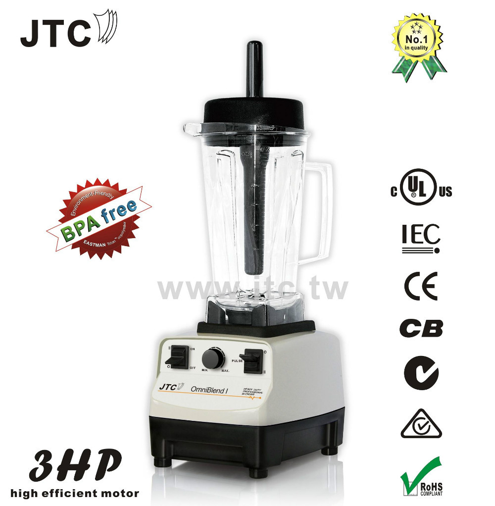 Commercial Blender With BPA Free Jar TM 767T Grey Free Shipping 100 Guaranteed NO 1 Quality