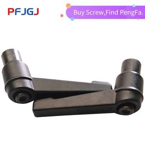 Peng Fa 1pc M5 M6 M8 M10 M12 Adjustable Handle Lever Clamping Handles Thread Metal Knob Machinery Tools(China)