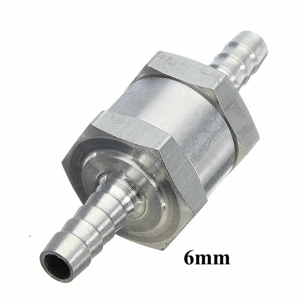 6 millimetri di Carburante Benzina Diesel Lega di Alluminio di Un Modo di Non Ritorno Valvola di Ritegno Multifunzione Accessori 2019 Strumenti #15