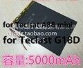 Batería de 3.7 V 5000 mAh Batería de La Tableta De Teclast A88 mini Tablet PC Batería para Teclast G18D Tablet PC Batería