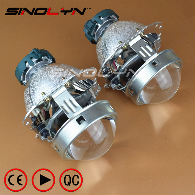 Evox Bi Xenon Projector Lens Headlight Reflector For Bmw