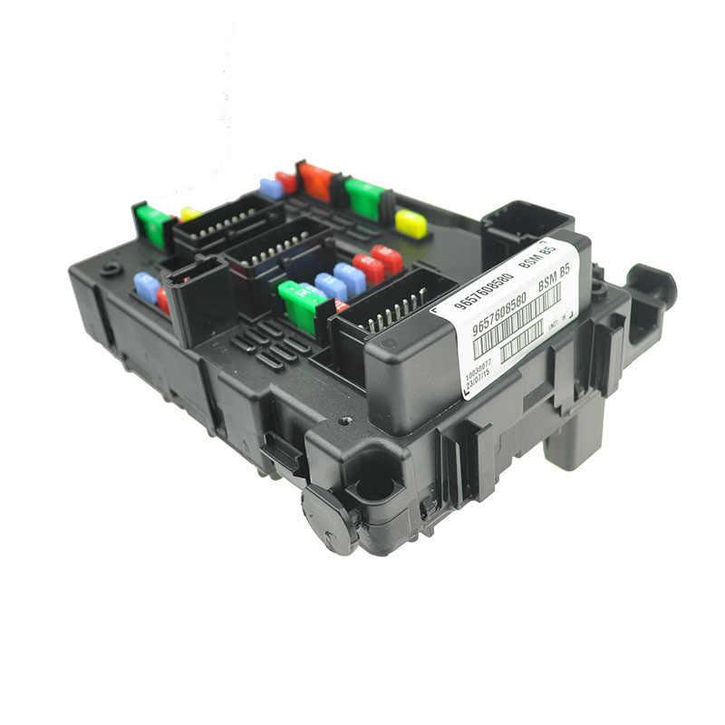 brand new genuine fuse box unit assembly under bonnet 9657608580 bsm b5  for lancia phedra fiat