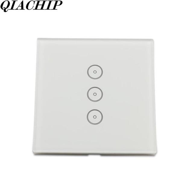 Wifi Smart Home Switch AC 110V 220V 3 Way Wall Light Remote Control