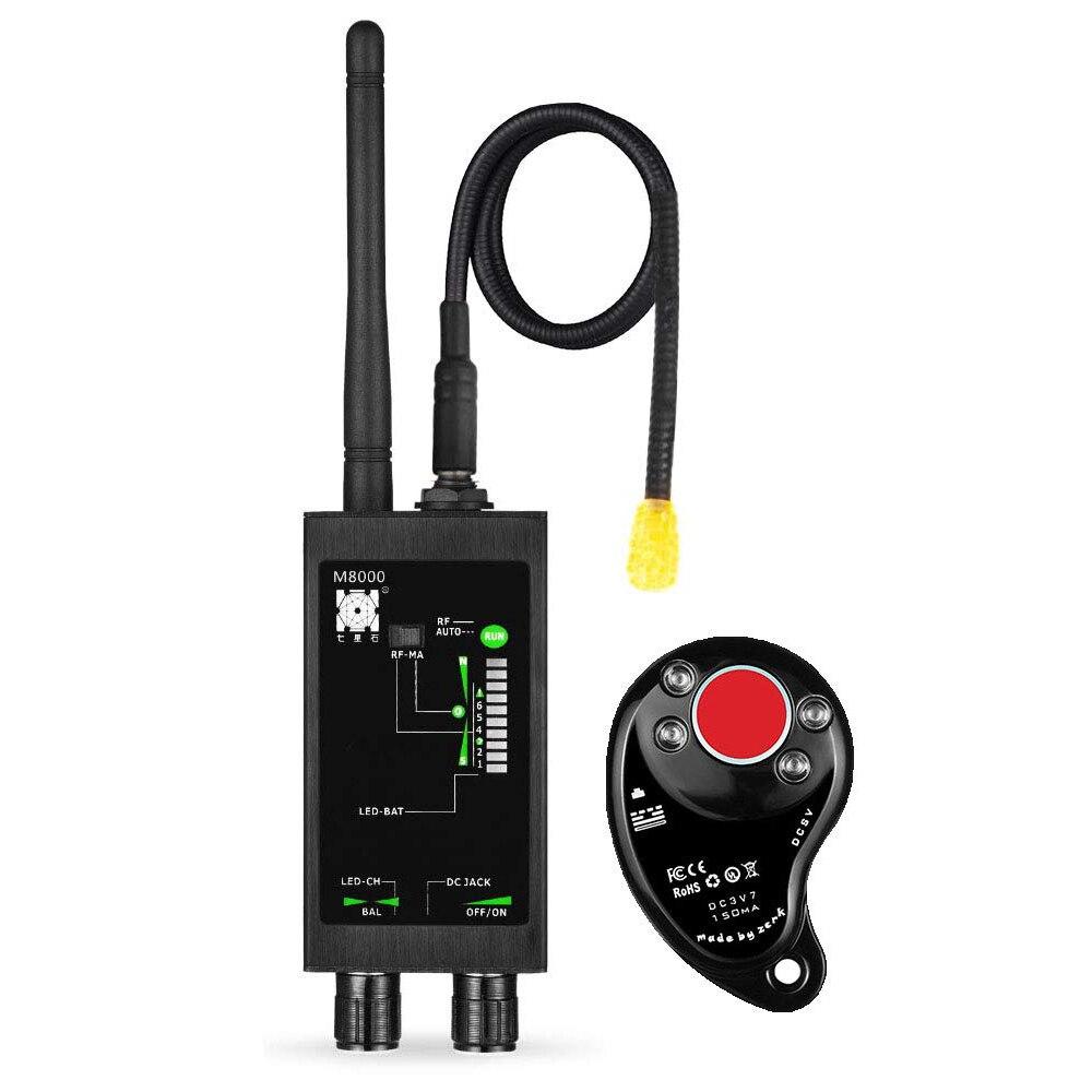 1MHz-12GH Anti-Espion Détecteur GSM RF Signal Détecteur Recherche Automatique GPS Tracker Bug Finder avec Long Magnétique