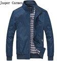 2017 nueva moda de primavera y otoño chaqueta informal masculina para hombre chaquetas y abrigos chaquetas hombre más el tamaño 3XL 49