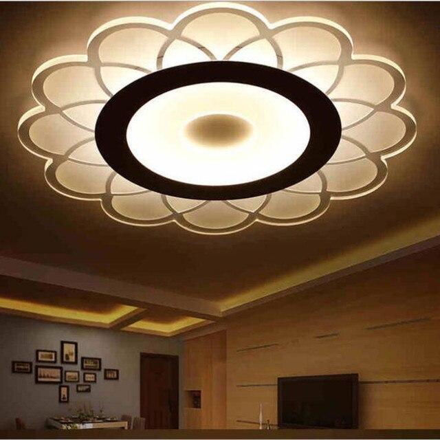 US $88.11 11% OFF|Die wohnzimmer decke lichter LED Acrylie lampe innen  beleuchtung Schlafzimmer mehr modellierung LED leuchte in Die wohnzimmer  decke ...
