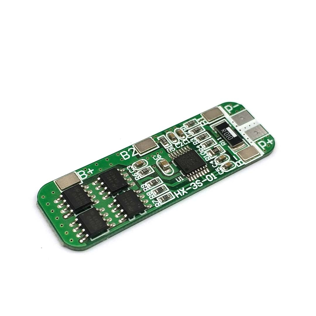 3S 10A 12V Lithium Battery Charger Protection Board Module For 3pcs 18650 Lipo Li-ion Battery Cell Charging BMS 11.1V 12.6V