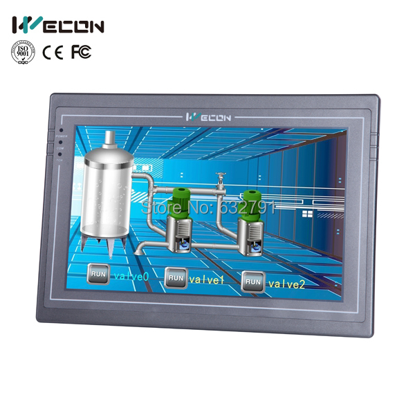 Wecon 10.2 inch hmi,advanced industrial panel pc with modest price 8 4 inch plc control hmi front panel industrial embedded panel pc