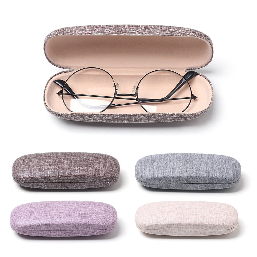 1 Pcs Hot Fashion Pretty Reading Eyewear Case For Men Women Kids Leather Eye Glasses Hard Shell Protector Sunglasses Box Case