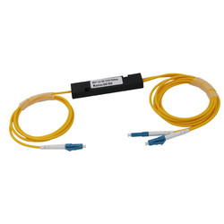 LC UPC MINI PLC 1X 2 Single mode LC splitter fiber optic 1x2 LC pc plc splitter/ 1x2 Single mode plc splitter Free shipping
