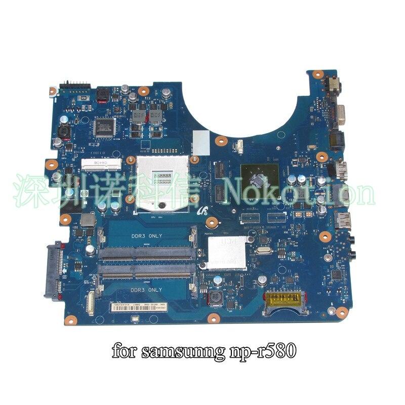 BA92-06128A BA92-06128B For samsung NP-R580 R580 laptop motherboard HM55 GT310M ba92 05127a ba92 05127b for samsung np r60 r60 laptop motherboard ddr2 intel ati rs600me
