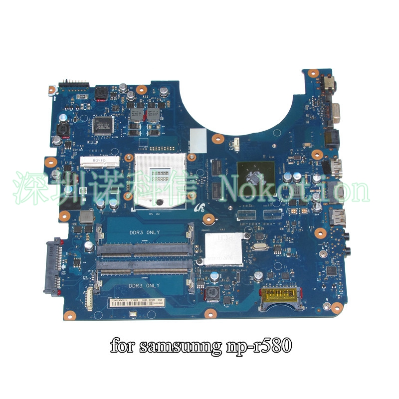 все цены на NOKOTION BA92-06128A BA92-06128B For samsung NP-R580 R580 laptop motherboard HM55 GT310M онлайн
