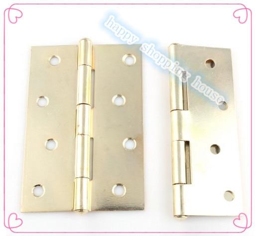 Hardware accessories golden antique hinges wooden door hinge parts ...