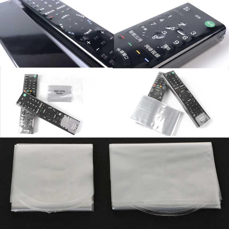 Новый 10 шт ПВХ прозрачная термоусадочная пленка крышка для samsung LG tv кондиционер пульт дистанционного управления
