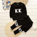 Baby clothing set children 2 pcs sport suit clothes kids clothes set spring  boy girls coat + pats 2pcs set az07