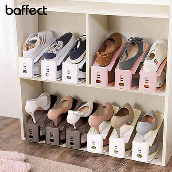 Shoe Rack Plastic Shoes Organizer Storage Shoes Holders Living Room Convenient Shoebox Shoes Rangenment Storage Shelf