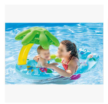 inflatable outdoor poolBaby's Inflatable With Sunshade Mother Baby's Bath Outdoor For Coconut Tree Swim Ring Pool Toy Summer summer hot sale inflatable ocean animal balloons inflatable octopus tentecle with free fan blower inflatable outdoor toy
