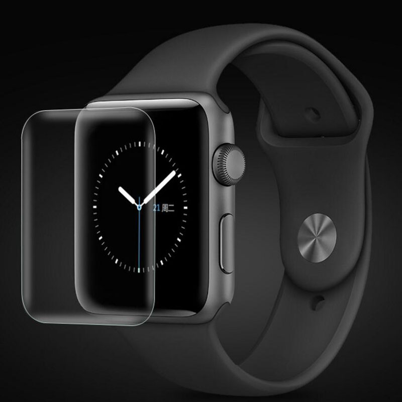 Hydrogel (No Glass) Protective Film For Iwatch Apple Watch Series 2/3/4/5 38mm 42mm 40mm 44mm Full Edge Screen Protector Cover