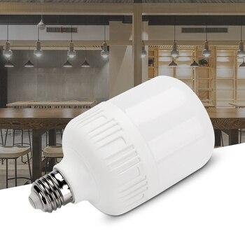 цена на High-quality led energy-saving light bulb E27 white / warm white 5W 10W 20W 30W 40W 50W super bright home / business bulb