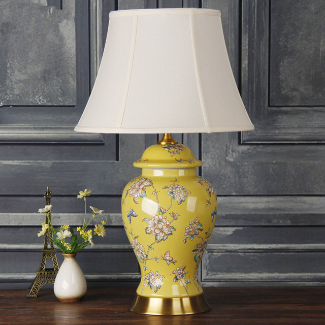 Art chinese porcelain ceramic table lamp bedroom living room wedding art chinese porcelain ceramic table lamp bedroom living room wedding table lamp jingdezhen replica table lamps aloadofball Choice Image