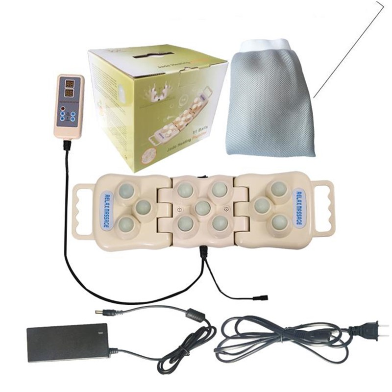 POP RELAX PR P11 foldable 11 jade balls handhold far infrared heating therapy projector massage relaxant body in Massage Relaxation from Beauty Health