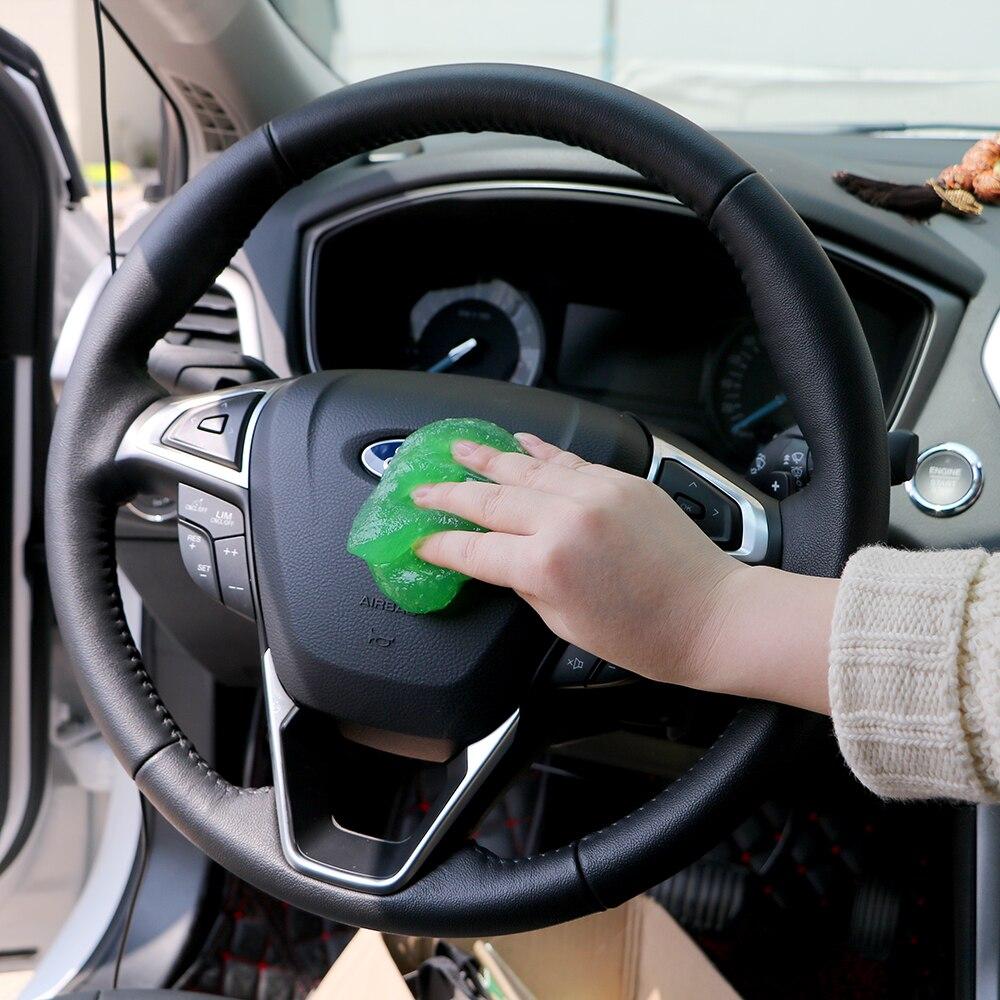 2019 Neuestes Design Auto Super Sauber Kleber Staub Wischer Magische Klebrige Gel Auto Detaillierung Reinigung Für Auto Pc Laptop Tastatur Praktische Auto- Styling