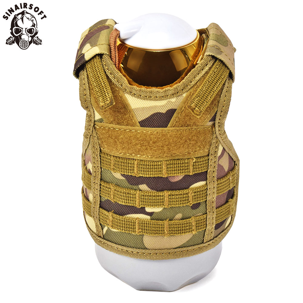 SINAIRSOFT Tactical Beer Military Molle bottle cover vest Beverage Cooler Christmas dress up accessories Halloween Party LY2074