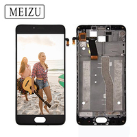 No Dead Pixels 5 2 IPS Display For MEIZU M5 LCD M611A M611H Touch Screen Digitizer