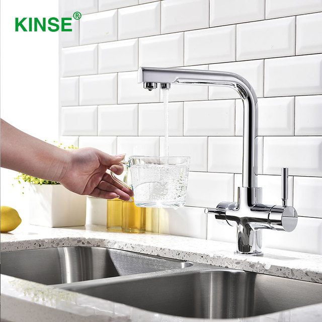 Kinse Top Quality Brass Material Chrome Best Kitchen Faucets With