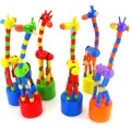 Новых качалка жираф деревянные игрушки детские мультики красочные качели обучающие игрушки для детей детский провода управления , чтобы узнать , животный игрушки